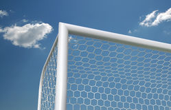 ποδόσφαιρο στόχου Στοκ εικόνα με δικαίωμα ελεύθερης χρήσης