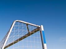 ποδόσφαιρο στόχου Στοκ φωτογραφία με δικαίωμα ελεύθερης χρήσης