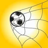 ποδόσφαιρο στόχου απεικόνιση αποθεμάτων