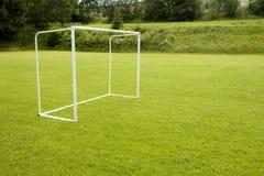 ποδόσφαιρο στόχων Στοκ εικόνα με δικαίωμα ελεύθερης χρήσης