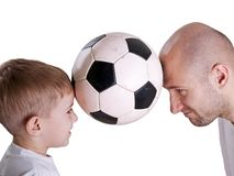 ποδόσφαιρο σφαιρών Στοκ εικόνα με δικαίωμα ελεύθερης χρήσης