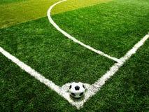 ποδόσφαιρο σφαιρών Στοκ φωτογραφία με δικαίωμα ελεύθερης χρήσης