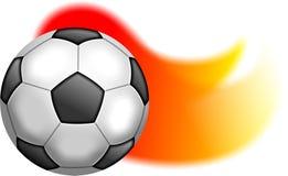 ποδόσφαιρο σφαιρών Στοκ φωτογραφίες με δικαίωμα ελεύθερης χρήσης