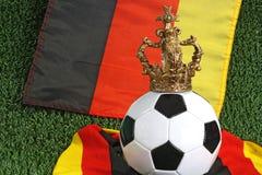 ποδόσφαιρο σφαιρών Στοκ εικόνες με δικαίωμα ελεύθερης χρήσης