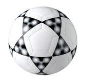 ποδόσφαιρο σχεδίου συμ& Στοκ Εικόνα