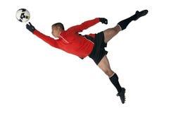 ποδόσφαιρο τερματοφυλ&al Στοκ εικόνες με δικαίωμα ελεύθερης χρήσης