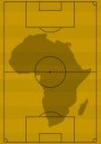 ποδόσφαιρο της Αφρικής απεικόνιση αποθεμάτων