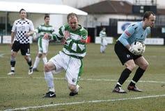 ποδόσφαιρο τραυματισμών Στοκ εικόνα με δικαίωμα ελεύθερης χρήσης