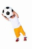 ποδόσφαιρο φορέων στοκ εικόνες