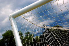ποδόσφαιρο 4 πυλών Στοκ φωτογραφία με δικαίωμα ελεύθερης χρήσης