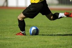ποδόσφαιρο Στοκ εικόνες με δικαίωμα ελεύθερης χρήσης