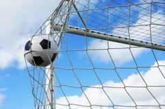 ποδόσφαιρο gool Στοκ φωτογραφία με δικαίωμα ελεύθερης χρήσης