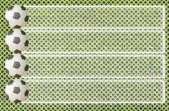 Ποδόσφαιρο Plasticine στοκ εικόνες
