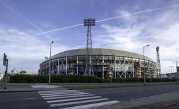 Ποδόσφαιρο Stadion Feyenoord Ρότερνταμ στοκ εικόνα