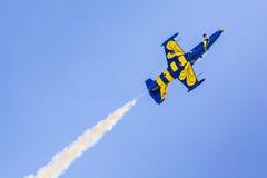 ΠΟΖΝΑΝ, ΠΟΛΩΝΙΑ - 14 ΙΟΥΝΊΟΥ: Σχηματισμός ομάδας Aerobatic Στοκ εικόνες με δικαίωμα ελεύθερης χρήσης