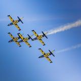 ΠΟΖΝΑΝ, ΠΟΛΩΝΙΑ - 14 ΙΟΥΝΊΟΥ: Σχηματισμός ομάδας Aerobatic Στοκ Εικόνες