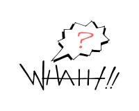 Ποια απεικόνιση λέξης και ερωτηματικών ελεύθερη απεικόνιση δικαιώματος