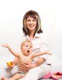 Ποια χαρά, παιδί έκπληκτο Στοκ εικόνα με δικαίωμα ελεύθερης χρήσης