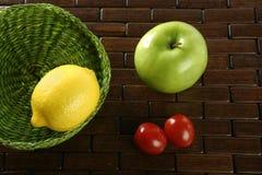 ποικίλα καρποί λαχανικά Στοκ Εικόνες