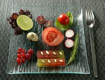 ποικίλα σαλάτα λαχανικά &kapp Στοκ φωτογραφία με δικαίωμα ελεύθερης χρήσης