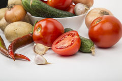 Ποικίλα λαχανικά Στοκ φωτογραφία με δικαίωμα ελεύθερης χρήσης
