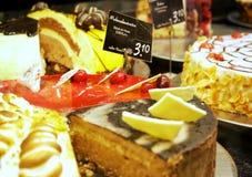 ποικιλία κέικ Στοκ Εικόνες
