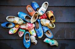 Ποικιλία ολλανδικά Clogs Στοκ εικόνα με δικαίωμα ελεύθερης χρήσης