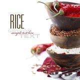 ποικιλία ρυζιού Στοκ φωτογραφία με δικαίωμα ελεύθερης χρήσης