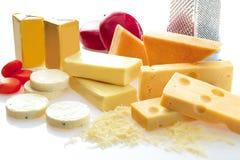 ποικιλία τυριών Στοκ Φωτογραφία