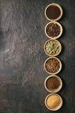 Ποικιλία των φασολιών καφέ Στοκ εικόνα με δικαίωμα ελεύθερης χρήσης