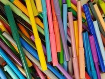 ποικιλία των χρωμάτων, δείκτες Στοκ Φωτογραφία