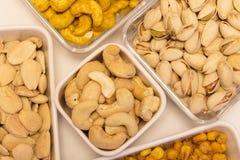 Ποικιλίες των καρυδιών 4 Στοκ φωτογραφία με δικαίωμα ελεύθερης χρήσης
