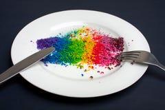 Ποικιλομορφία της έννοιας τροφίμων Στοκ φωτογραφίες με δικαίωμα ελεύθερης χρήσης