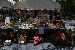 Ποικιλία πώλησης εμπόρων αλσών Shupps Στοκ Φωτογραφία