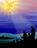 ποιμένες της Βηθλεέμ ελεύθερη απεικόνιση δικαιώματος