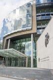 Ποινικά Δικαστήρια της δικαιοσύνης Στοκ Εικόνες