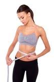 Ποιος είναι ο στόχος waistline σας; Στοκ Φωτογραφίες