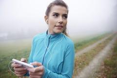 Ποιος τρόπος θα είναι το καλύτερο για το τρέξιμο; Στοκ Εικόνες