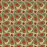 Ποιοτική διανυσματική απεικόνιση σχεδίων χρώματος αφηρημένη γεωμετρική άνευ ραφής για το σχέδιό σας Στοκ Εικόνα