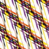 Ποιοτική διανυσματική απεικόνιση σχεδίων χρώματος αφηρημένη γεωμετρική άνευ ραφής για το σχέδιό σας Στοκ εικόνα με δικαίωμα ελεύθερης χρήσης