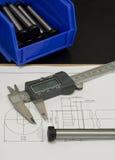 ποιότητα ελέγχου CAD 3 Στοκ Φωτογραφίες