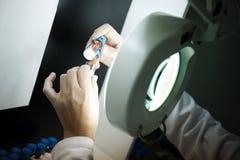 ποιότητα ιατρικής ελέγχο&u Στοκ Εικόνες