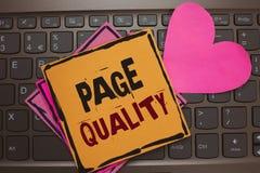 Ποιότητα σελίδων κειμένων γραψίματος λέξης Επιχειρησιακή έννοια για την αποτελεσματικότητα ενός ιστοχώρου από την άποψη των εγγρά στοκ φωτογραφίες με δικαίωμα ελεύθερης χρήσης