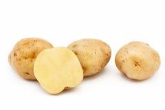 Ποιότητα των πατατών Κρόνος Απομονωμένος στο άσπρο backgroun Στοκ Εικόνες