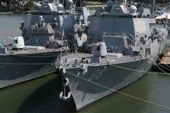 πολεμικά πλοία Στοκ Εικόνα