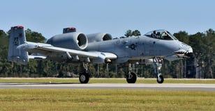 Πολεμική Αεροπορία α-10 Warthog/κεραυνός ΙΙ Στοκ Εικόνες