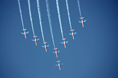 Πολεμική Αεροπορία γαλ&l Στοκ εικόνα με δικαίωμα ελεύθερης χρήσης