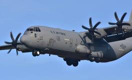 Πολεμική Αεροπορία γ-130 Hercules Στοκ Εικόνα