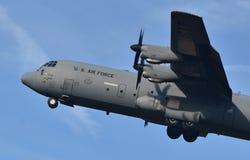 Πολεμική Αεροπορία γ-130 Hercules Στοκ Εικόνες