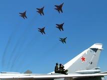 πολεμική αεροπορία ΕΣΣΔ στοκ εικόνες